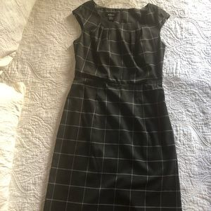 Charcoal Gray patterned dress